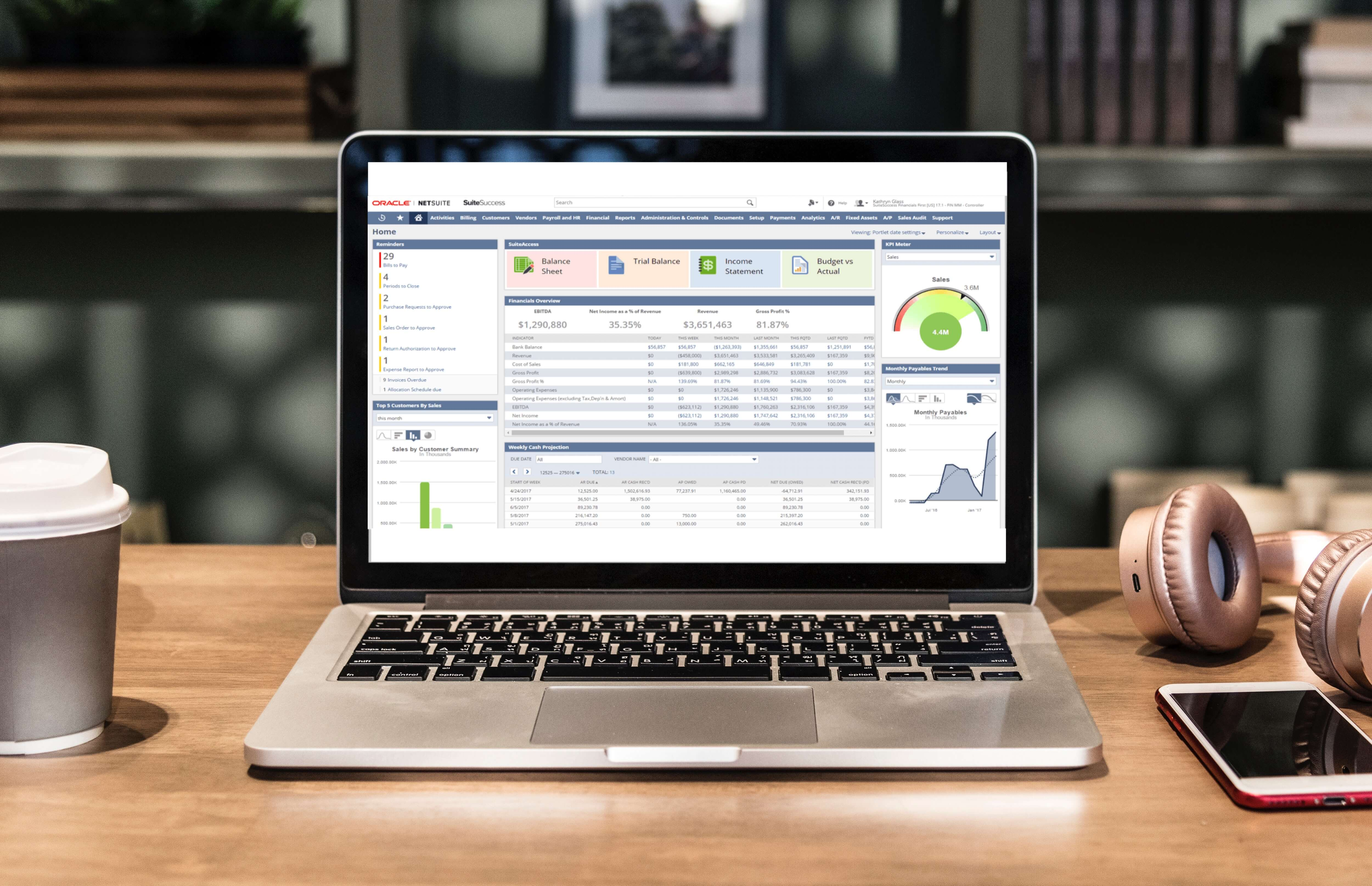 netsuite all-in-one data console